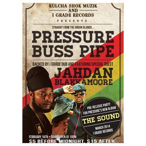 Pressure Buss Pipe & I Grade Dub live at Club Jazid