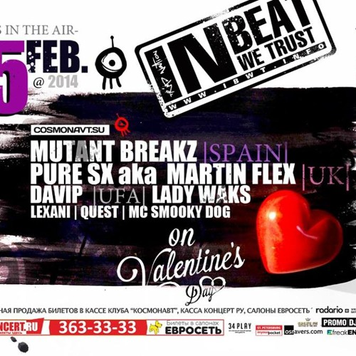 Martin Flex Live Broadcast On Radio Record From - IBWT Valentine's Day Party - St Petersburg, Russia
