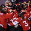 Canada wins GOLD in women's hockey in Sochi while Stephen Lethbridge is live!