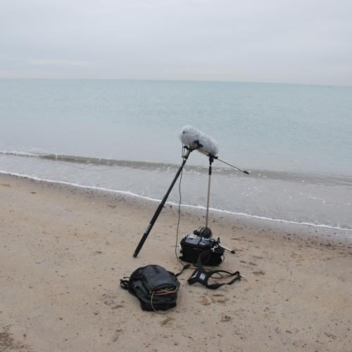 Het geluid van een kalme Noordzee / The sound of a very calm North Sea