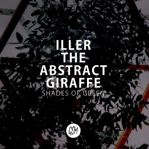 "Iller The Abstract Giraffe ""Shades Of Green"""