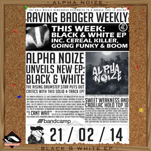 Alpha Noize - Swinging Fear [Raving Badger EP Release]