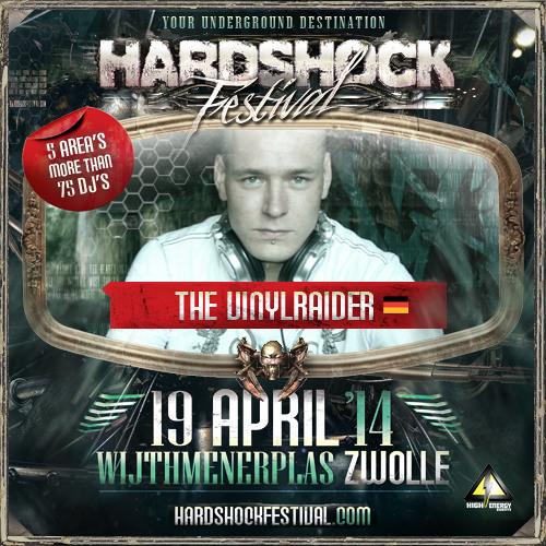 The Vinylraider - Hardshock Festival Promomix 2014