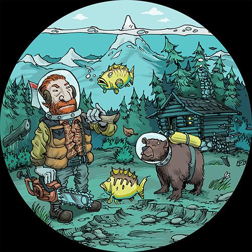 URSL017 I Krink - The Wilderness (David Dorad Vinyl Rmx) (Short Version)