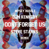 nipsey hussle ft. dom kennedy - don't forget us (steve starks remix)