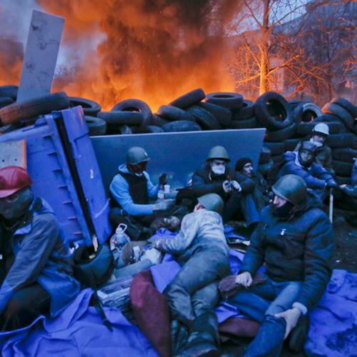 The uprising in Ukraine