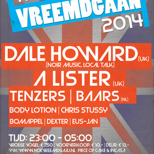 Vreemdgaan @ InCasa - 1st March 2014 (Mixed By A Lister)