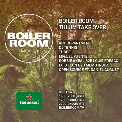 Robbie Akbal B2b Louie Fresco Boiler Room Mexico -Tulum Takeover