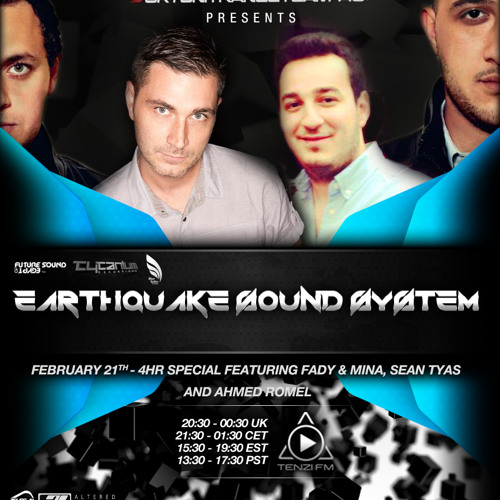 UkTuniTranceTeam Pres. Earthquake Sound System 059 (Sean Tyas & Ahmed Romel nd Fady & Mina Guestmix)