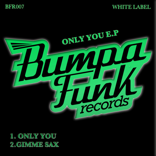 Gimme Sax - White Label - OUT NOW!!!
