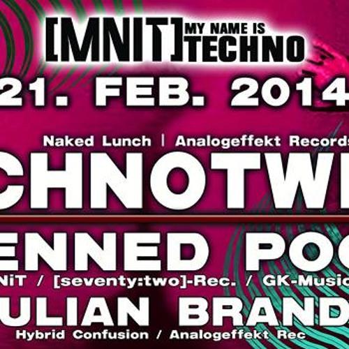 Julian Brand @ MNIT Pres. Technotwins 21.02.2014