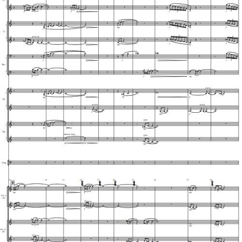 Diversione Corale for orchestra (2010)