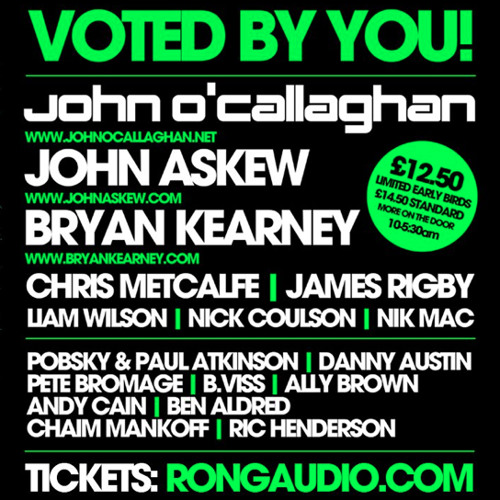 JOHN ASKEW - LIVE FROM RONG MANCHESTER SEPT 2012