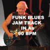 Funk Blues Jam Track In Ab 90 bpm