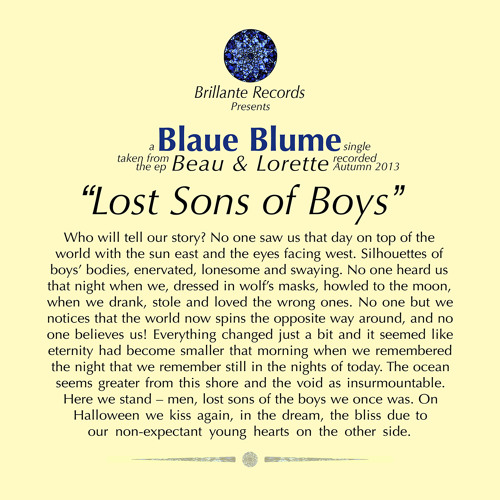 Lost Sons Of Boys