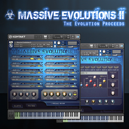 ☣ Massive Evolutions II [for Kontakt 5] - Sounds for Electro, Dubstep, Complextro, Cinematic