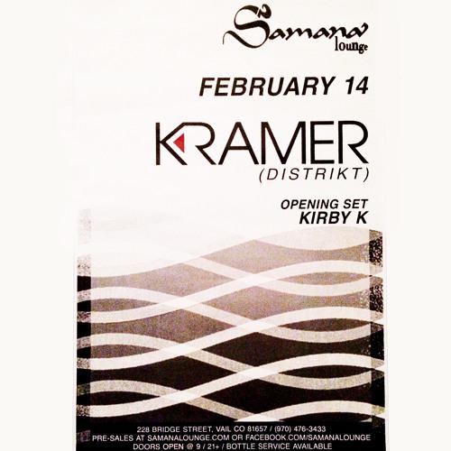 DJ Kramer - Live @ Samana Lounge - Vail, Colorado - Feb 14, 2014