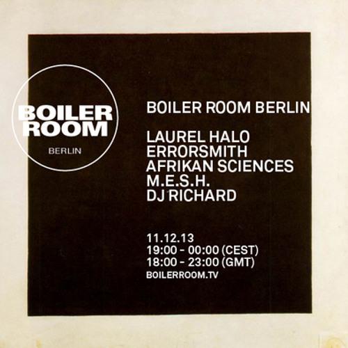 Afrikan Sciences Boiler Room Berlin Live Show