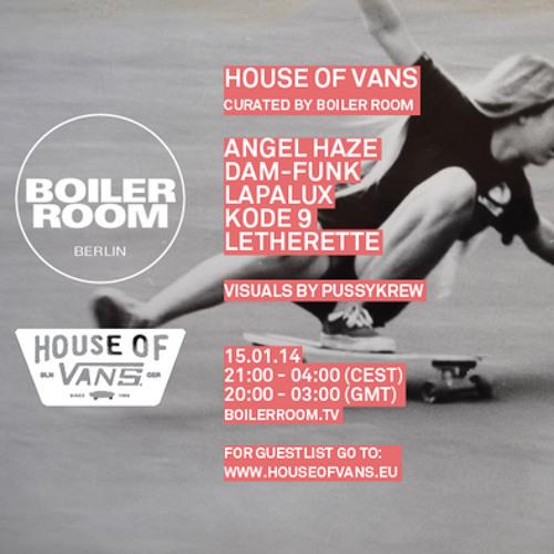 Lapalux Boiler Room Berlin Live Show