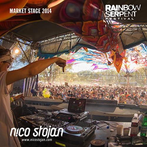 Nico Stojan @ Rainbow Serpent Festival 2014