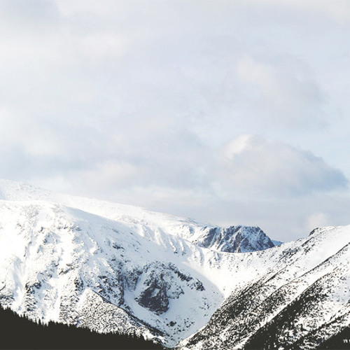 snow capped mountain top