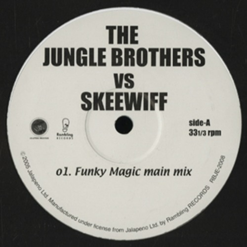 The Jungle Brothers & Skeewiff - Monkey Magic