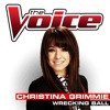 Wrecking Ball - Christina Grimmie - The Voice USA 2014 (Studio Version)