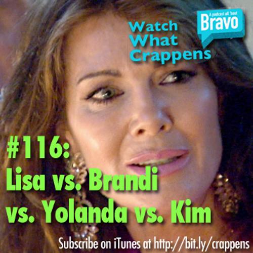 #116:  Lisa vs. Brandi vs. Yolanda vs. Kim