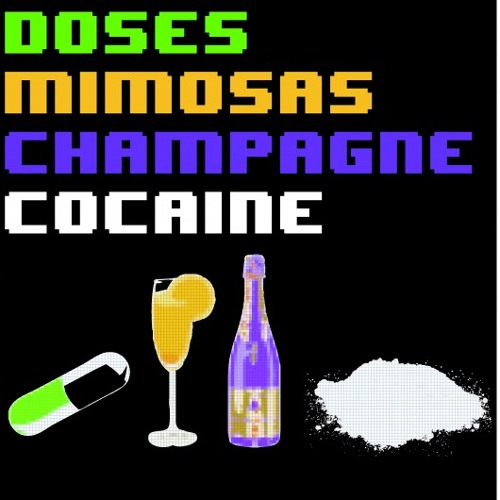 Doses & Mimosas, Champagne & Cocaine - Conflux (connorhodge) [FREE DL]