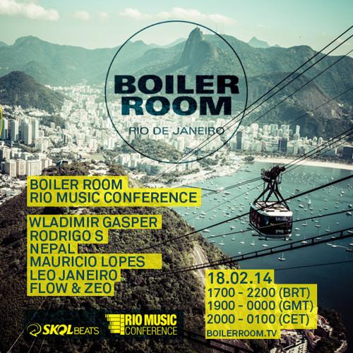 Flow & Zeo Boiler Room Rio de Janeiro Brazil DJ Set