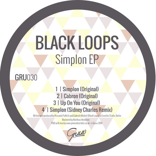 BLACK LOOPS - Up on you (original mix)