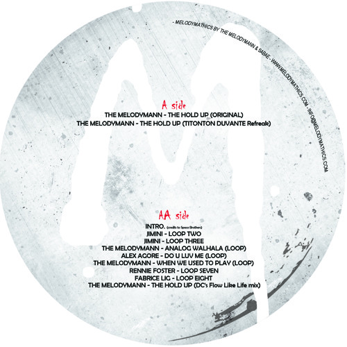 Record Store Day : Out Of Stock 001  : DAN CURTIN, TITONTON DUVANTE & MELODYMANN, ...