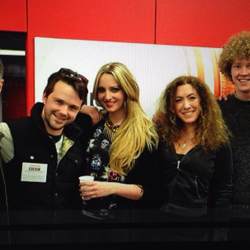 Hannah Wildes LIVE BBC Radio Her own song  'I Walked All Night'