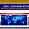The Role of an Intercessor - Rev Jeff Tadlock of Voice of Triumph Bible Institute