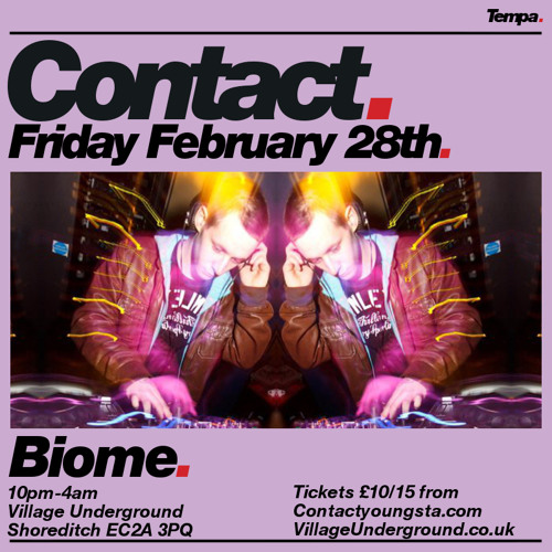 Biome Promo Mix For Contact