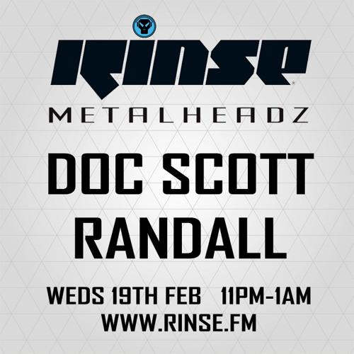 Randall & Doc Scott - The Metalheadz show on Rinse FM 19.02.14