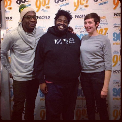 Ron Funches has Bunches of Fun on The Morning AMp