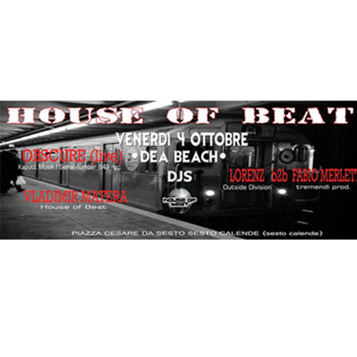 Opening Session - House Of Beat@Dea Beach 04.10.2013