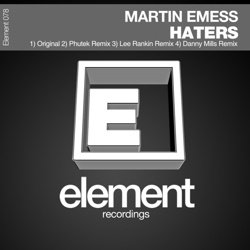 Martin Emess - Haters (Lee Rankin Remix) SC Demo