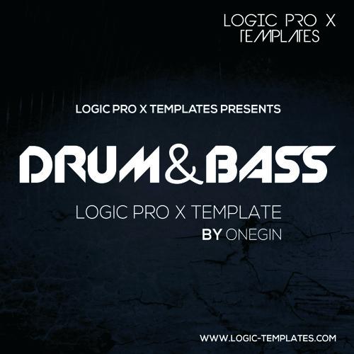 DRUM & BASS Logic Pro X Template