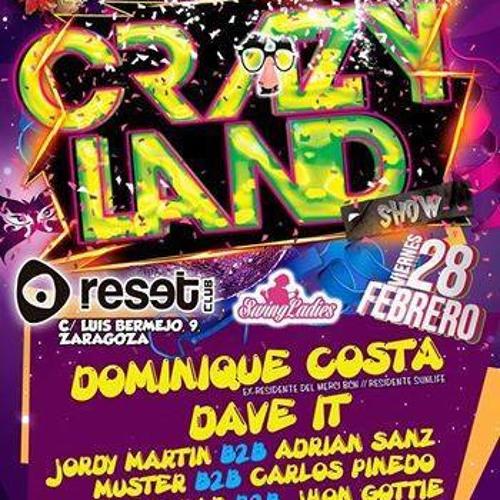 28-2-2014 - DANI BEATS @ Reset Club (Crazy Land)Light Night Group