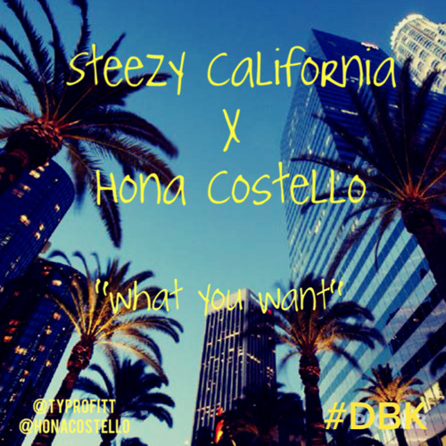 What You Want ft. Hona Costello