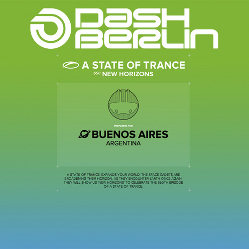 Dash Berlin Live at A State Of Trance 650 Buenos Aires Argentina