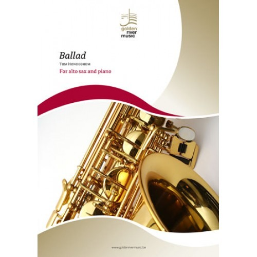 Ballad for alto sax and piano - T. Hondeghem