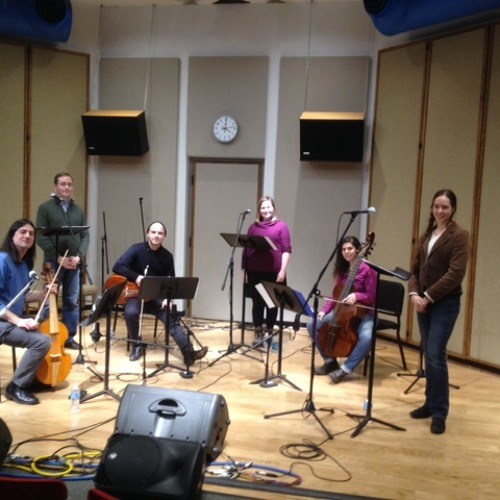 The  Fathom early-music ensemble performs live in IPR's Studio One