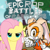 Fluttershy vs Cream the Rabbit. Epic Rap Battles of Cartoons 27