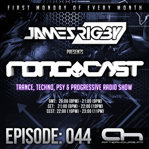 James Rigby Pres. The Rongcast- Episode 044 on Afterhours FM - 03/03/2014