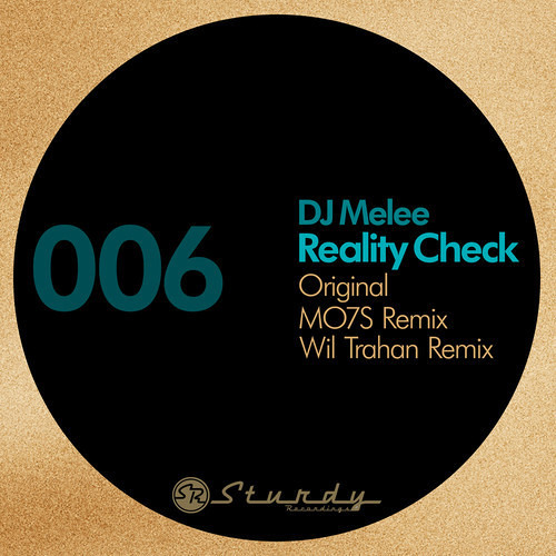 DJ Melee - Reality Check - (Wil Trahan Remix) STURDY006 Taster