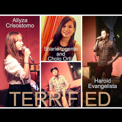 Terrified (cover by Allyza Crisostomo and Harold Evangelista, Sharie Ingente and Cholo Ortiz instr.)