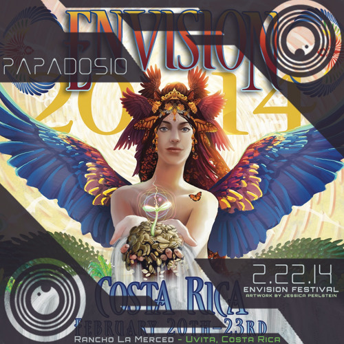 Papadosio - Live At Envision 2014 - Uvita, Costa Rica - Method Of Control